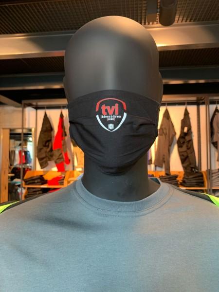 Stoffbehelfsmaske mit TVI - Vereinslogo